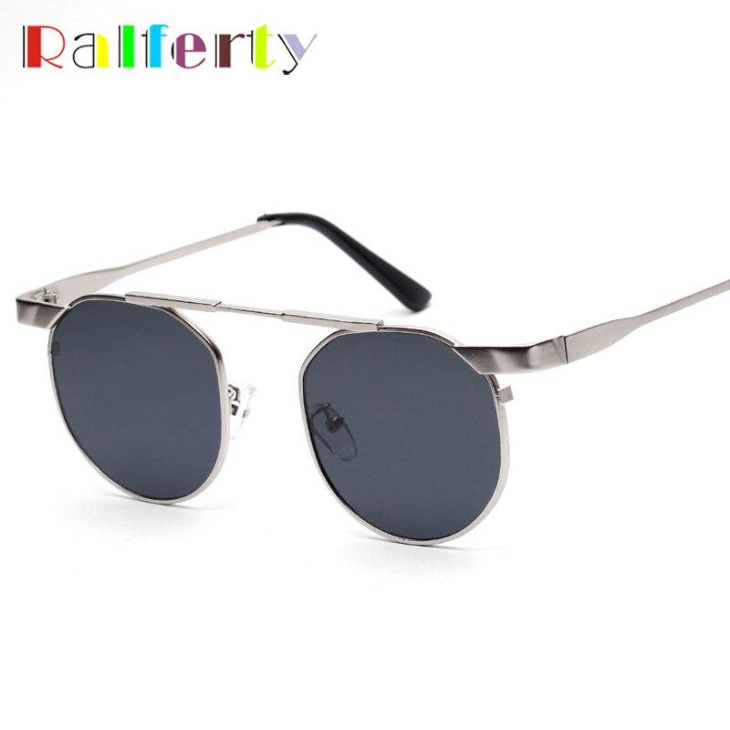 611f2be17f7099 Ralferty Vintage lunettes de Soleil Hommes Marque Designer En Métal Petit  Rond Lunettes de Soleil Rétro Shades Lunettes mâle lunettes homme 5321 w