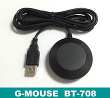 G-Mouse GPS Receiver Position Module Ublox G7020-KT Chip BT-708 Interface: DB9/USB/DB9&USB/Earphone plug Output level TTL(China)