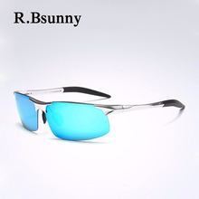 2018 Nova Marca de moda óculos polarizados óculos de sol dos homens Retro  Clássico Piloto Óculos Cor lentes Polaroid mulheres óc. 4b23a8dc24