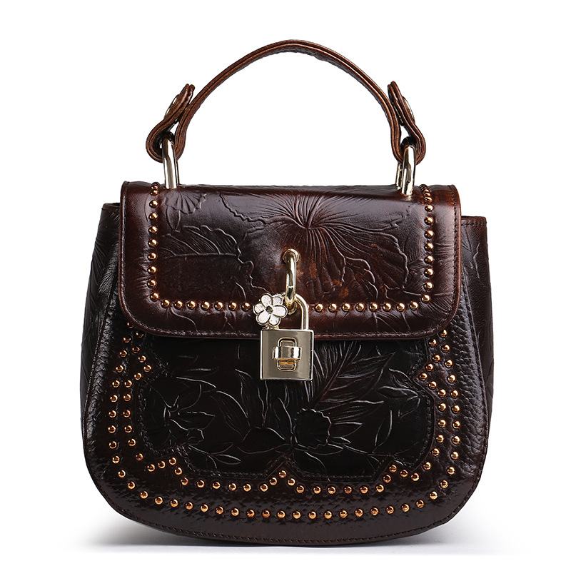 YISHEN Fashion Retro Women Handbags Genuine Cow Leather Female Crossbody Bags Lock Bag Casual Vintage Women Shoulder Bags LS8880 new style fashion genuine leather women bag retro cow leather small shoulder bags top grade all match mini women crossbody bag