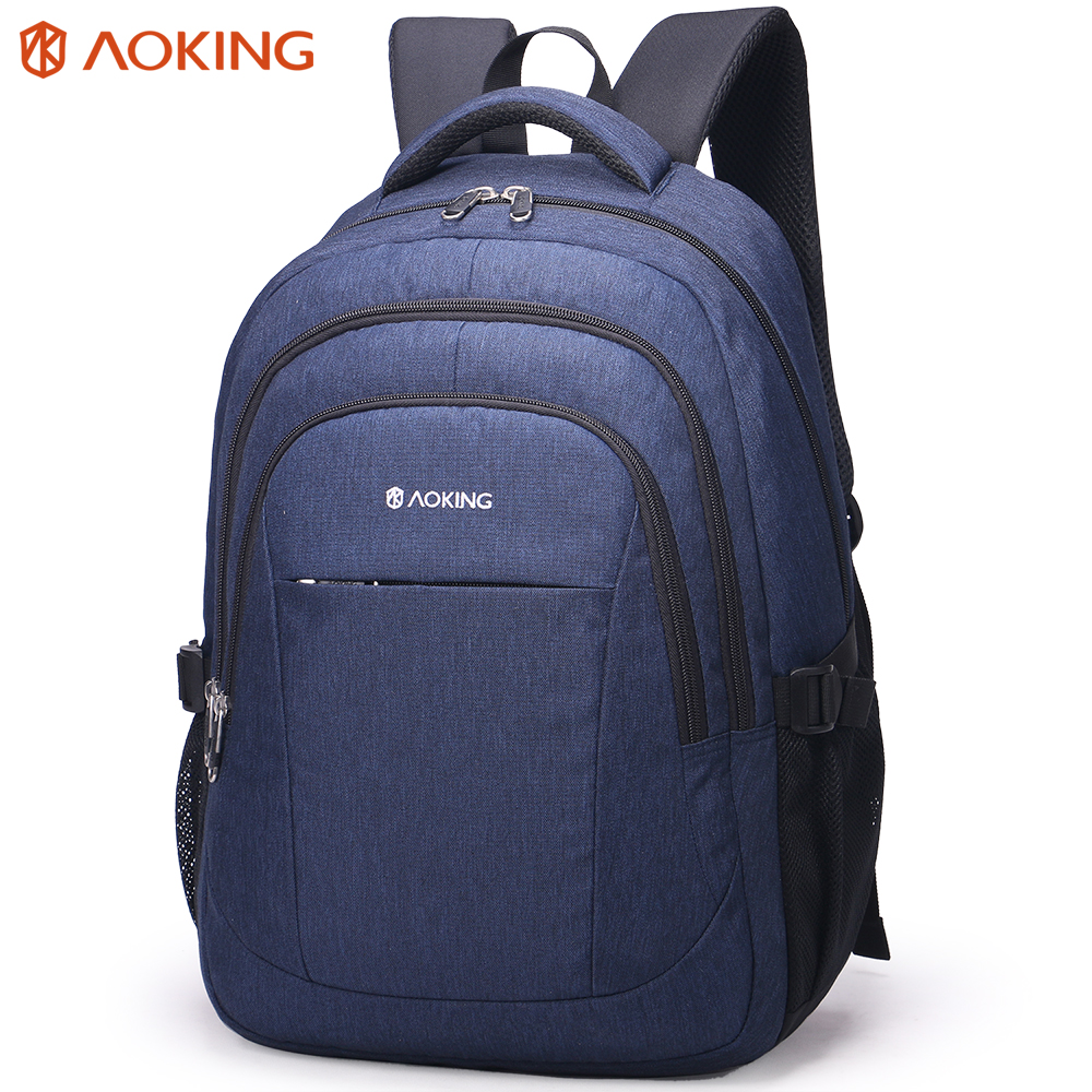 Aoking Laptop Backpack School Men Business Computer Daypack Women Travel Bag 15.6 inch Leisure Functional Backpack 3 Colors xiaomi 90fun brand leisure daypack business waterproof backpack 14 laptop commute college school travel trip grey