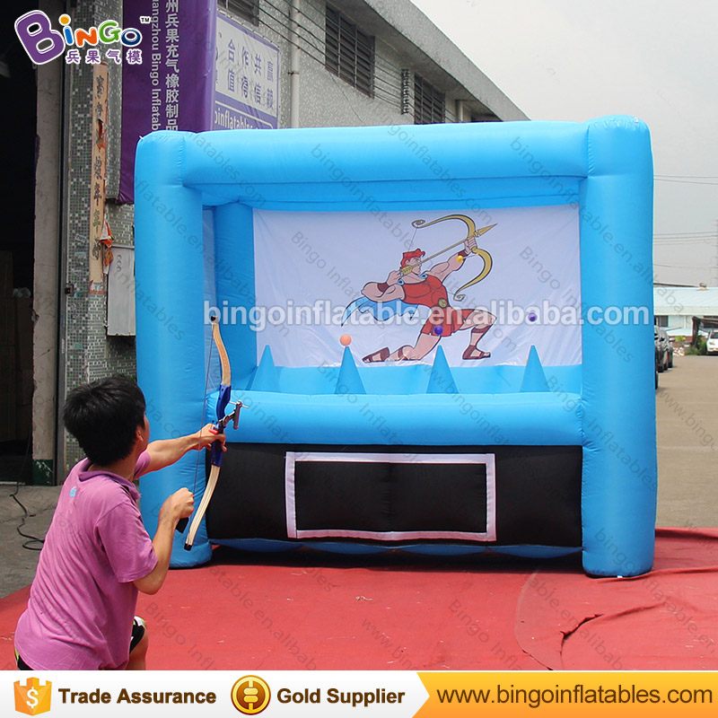 2018 Hot popular carnival games Inflatable Archery Games 3X1.5X2 M customized blow up archery for sale toys sports for children funny summer inflatable water games inflatable bounce water slide with stairs and blowers
