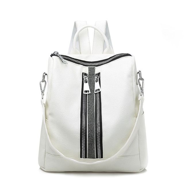 2bd9b40144b9 2019 New Fashion Women Anti Theft Backpack Purse PU Leather Shoulder Bag  Travel Daypack School Backpacks