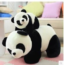 1 pièce Gros 20to 70 cm oreiller mignon panda en peluche jouets, coussins, enfants de jouets, cadeaux, livraison gratuite!