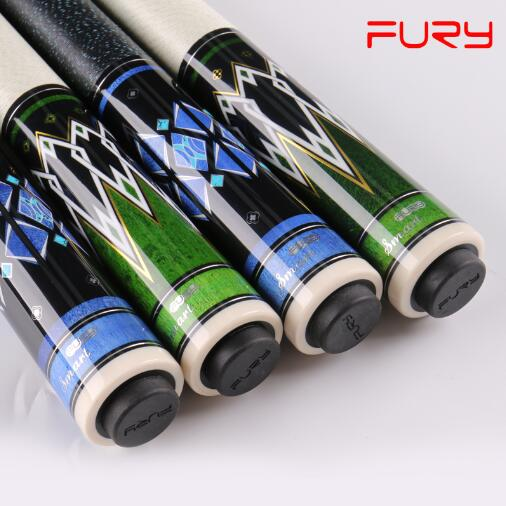 2018 FURY DN Handmade Pool Cue Stick With FURY Original 4 Hole Case Hardwood North American Maple Pool Billiard Cue Kit 13mm Tip