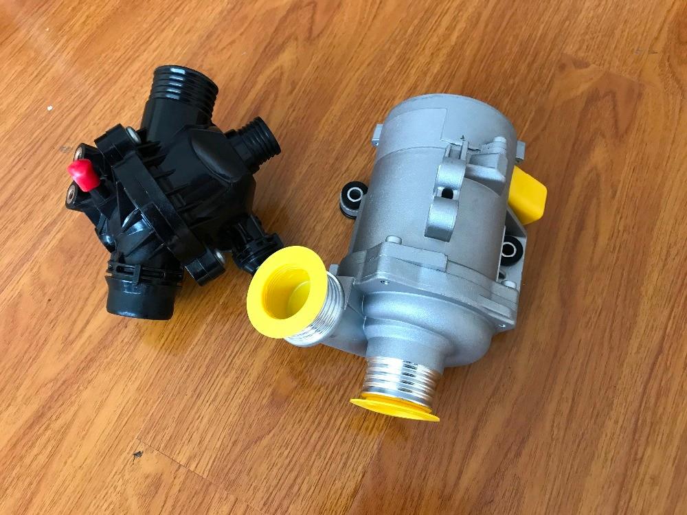 1 шт. Электрический водяной насос двигателя + 1 шт. термостат для BMW X3 X5 328I 528i 128i 11517586925,11537549476|thermostat for bmw|pump pumppump for water - AliExpress