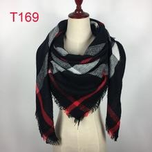 2018 triangle design hiver femmes écharpe de marque de luxe cachemire  foulards doux chaud épais dame châles Couverture bandanas . 4a861b0258c