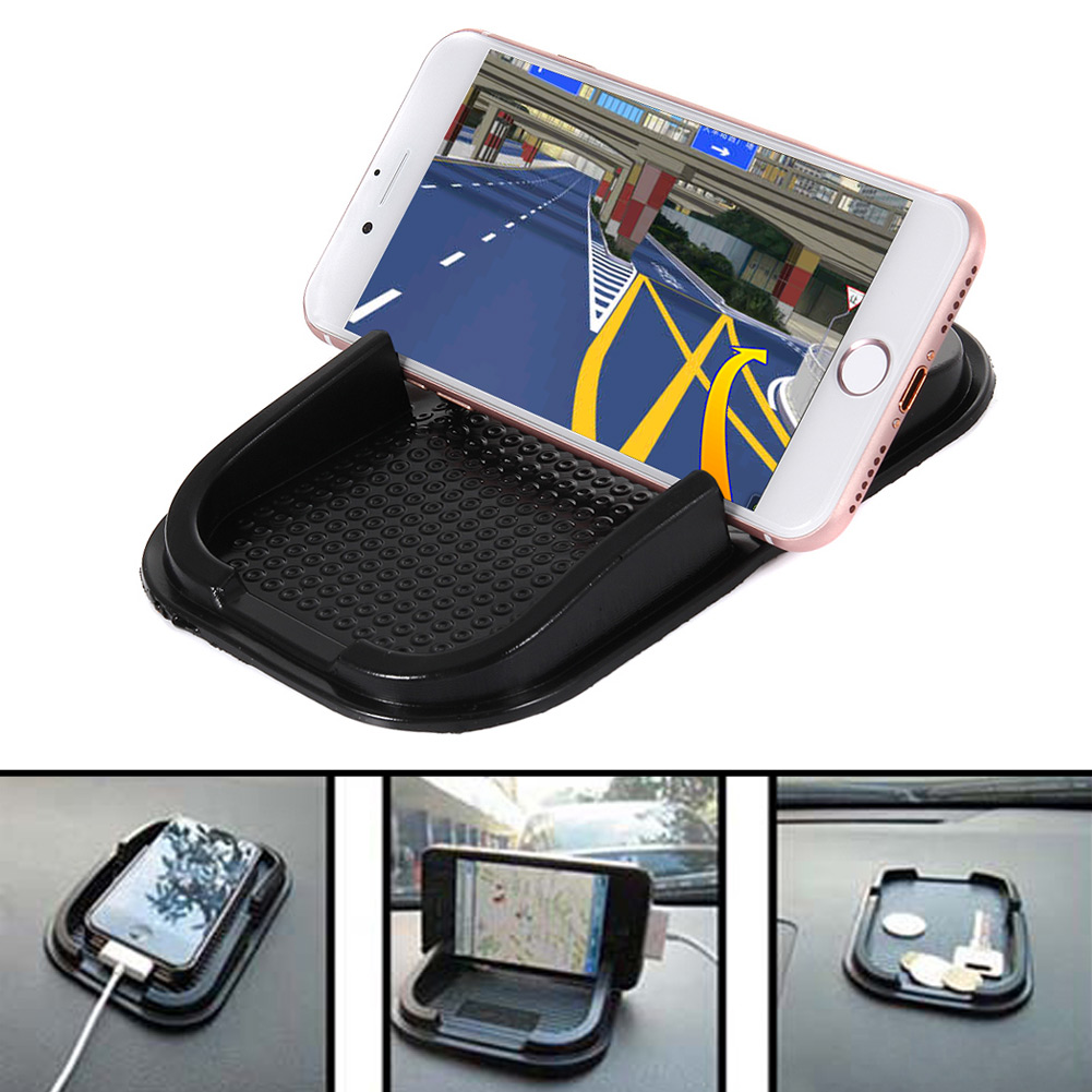whole New Universal Car Dashboard Sticky Pad Mat Anti Non Slip Gadget Mobile Phone GPS Holder DXY88 Воск