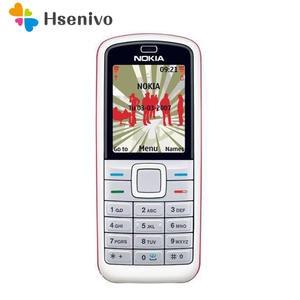 Nokia 5070 Cell-Phone Cheap GSM Refurbished Unlocked Original 1-Year-Warranty Multi-Languages