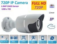 New Type1280 720P H 264 1 0 Megapixel HD ONVIF 2 0 IP Camera P2P Warterproof