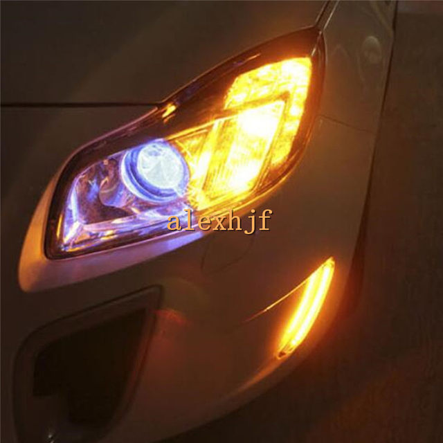 Online Shop July King LED Daytime Running Lights DRL case for Buick ...