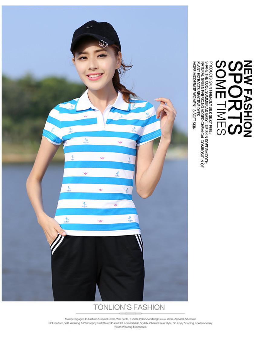 66953184c0b Summer Short Sleeve Red Striped Tops For Women Causal Plus Size Woman  camiseta feminina ladies shirts 66759. 01 02 03 04 05 06 ...