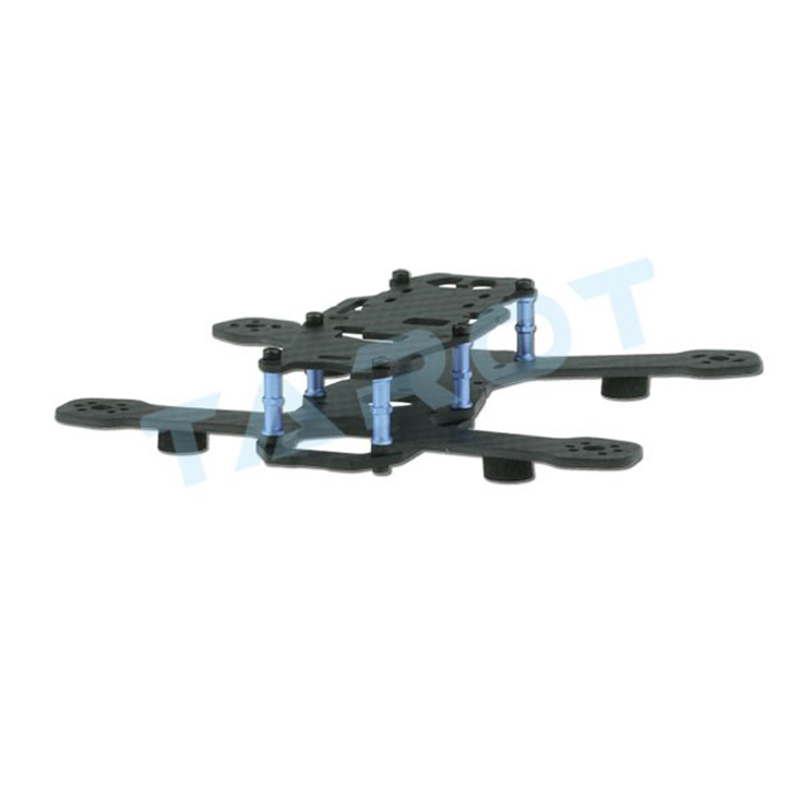Ormino Fpv Quadcopter Frame Kit Tarot 130 Mini Drone Racing Glass Carbon Fiber Frame Quadcopter Parts Fpv Drone Accessories ormino fpv quadcopter frame kit tarot 300 mini drone frame rc racing frame quadcopter fpv drone glass carbon fiber frame