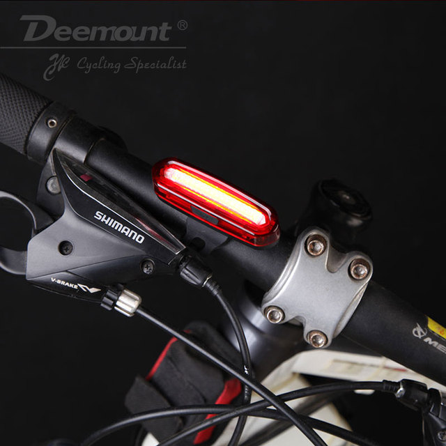 Bicycle Rechargeable Tail Light Warning Lamp