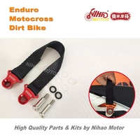 124 Motocross Parts Universal Rescue car belt trailer belt motocross seat belt rear traction rope Enduro Kit Dirt bike