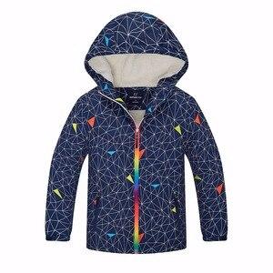 Image 3 - ฤดูหนาวที่อบอุ่นเด็กWindproofเด็กเสื้อลำลองเด็กOuterwearเสื้อผ้าสำหรับ3 12ปีดัชนีกันน้ำ5000มม.