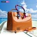 Роскошные сумки женщины сумки высокое качество Желе сумки PVC водонепроницаемый пляжная сумка Повседневная сумка