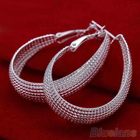 1 Paire Plush Ball Triangle Boucles d/'oreille en or pour femmes Dating Bijoux Cadeaux Fashion