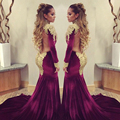 Celebrity Dresses 2017 Lace Trumpet Mermaid Evening Sexy Backless High Neck Prom Party Dress