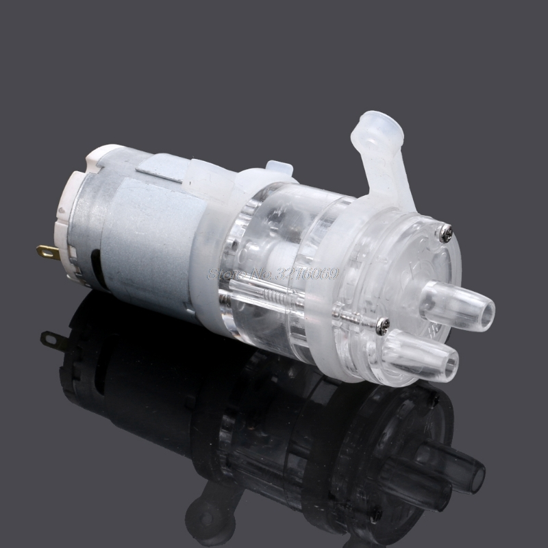 385 DC 6V-12V High Temperature Resistance 100 Degrees Celsius Mini Micro Water Pump Diaphragm Water Pump Vacuum Pump