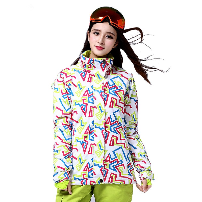 Odd and even plate skiwear female outdoor warm breathable waterproof mountaineering assault thicker coat clothes forever odd