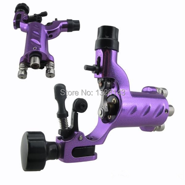 Professional New Dragonfly Rotary Tattoo Machine Gun with RCA Hoop Sun Purplefor Shader& Liner Rotary Tattoo Machine Motor Gun