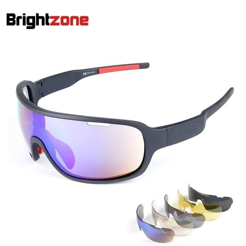 Visoko kakovostna 5 leča za moška ženska športna očala Zunanja gorska polarizirana sončna očala Brezplačna ladijska športna očala