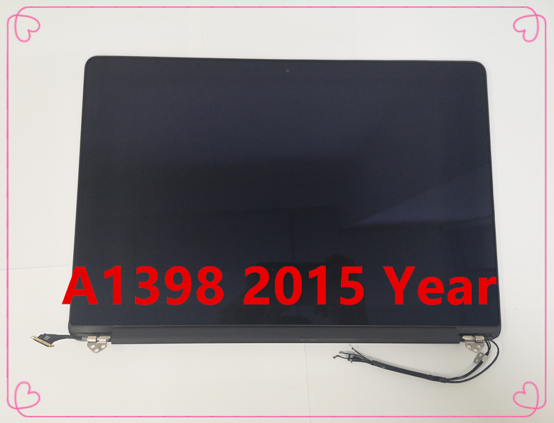 NEW For Macbook Pro 15'' Retina A1398 LCD Display Screen Assembly MJLQ2 MJLT2 Late 2015 Year(China)