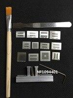 1 set of  DDR1  DDR2  DDR3  DDR4  DDR5  BGA Stencil Template