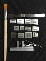 1 zestaw DDR1 DDR2 DDR3 DDR4 DDR5 wzornik bga szablon Części zamienne i akcesoria Elektronika użytkowa -