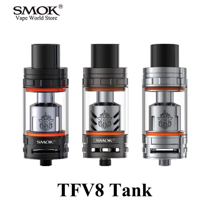Atomizador De Cigarrillos Electrónicos S SMOK TFV8 Tanque Vape Pluma Caja Mod Tanque Vaporizador E Atomizador De Cigarrillos 510 Hilo S083