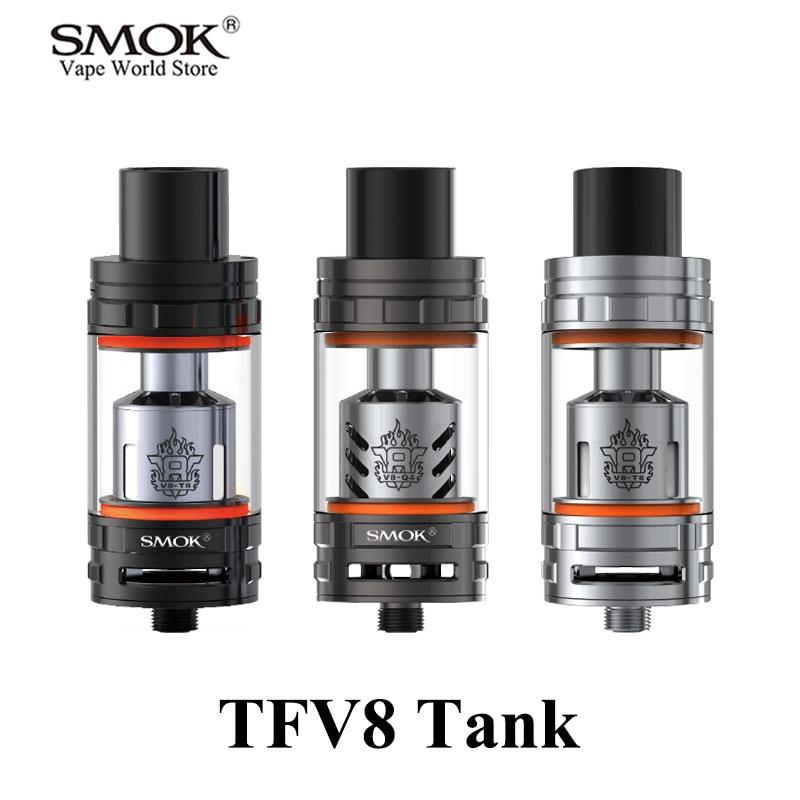 Cigarrillos electrónicos atomizadores SMOK TFV8 Tank Vape Pen Box Mod. Tanque Vaporizador E Cigarrillo Atomizador 510 Hilo S083