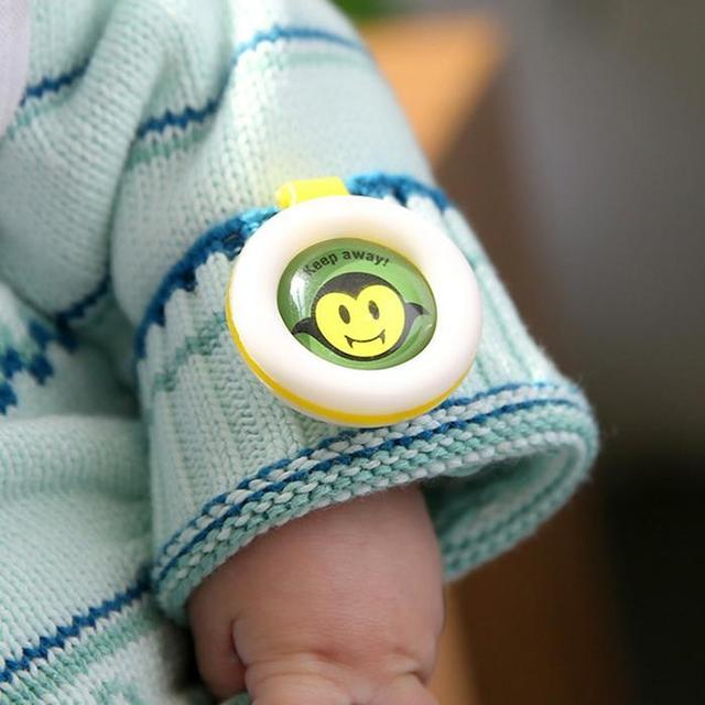 Mosquito Repellent Buckle For Baby Safety.