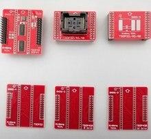 Free Shipping 6pcs/set TSOP32/40/48 IC Adapter Socket TSOP32 TSOP40 TSOP48 Sockets for Universal Programmer TL866A TL866CS