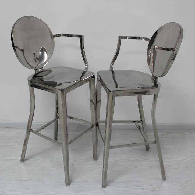 Cool Booth Devil Ghost Chair Stainless Steel Bar Stool Bar Stool Bar Stool  Highchair Specter Fashion