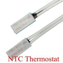 50PCS Thermostat KSD9700/TB02 40C-150C 100C 105C 110C 120C 15*5.4*2.4 Bimetal Disc Temperature Switch Thermal Protector degree
