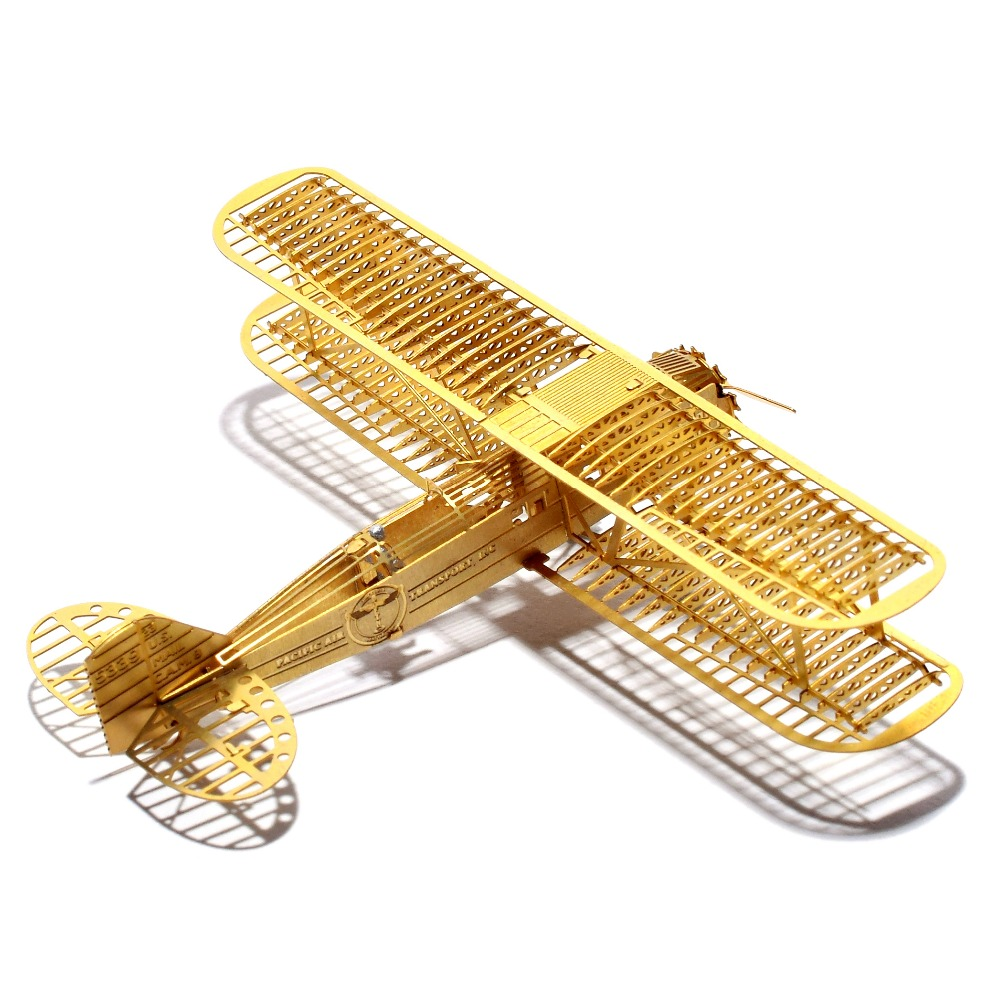 1/160 Boeing Model 40A Scale Brass Etched Model Kit Airplane 3D DIY Metal Puzzle Miniature Toy Adult Hobby Splicing Science