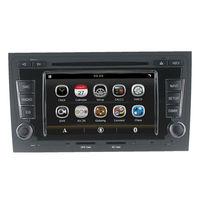 Sat Nav Autoradio carro DVD Player GPS para Audi A4 S4 RS4 8F B9 B7 8E Com Radio Bluetooth AUX RDS volante Estéreo unidade central