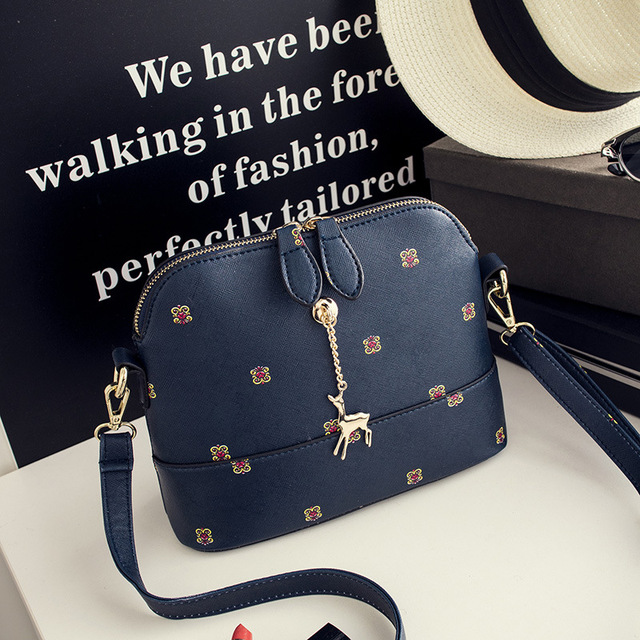 2016 Summer New Fashion Female Messenger Bag Double Zippers Shell Bag Leisure Women Shoulder Bag Small Crossbody Bags