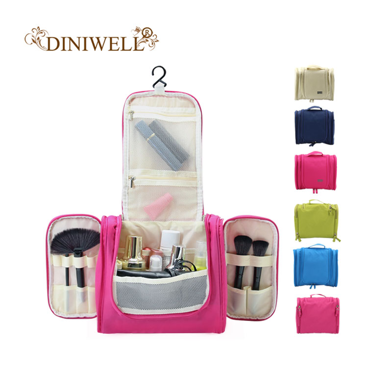 Waterproof Travel Organizer Bag Unisex Hanging Makeup Storage Bags Cosmetic Mesh Pockets Tour Washing Toiletry Kit Organizer