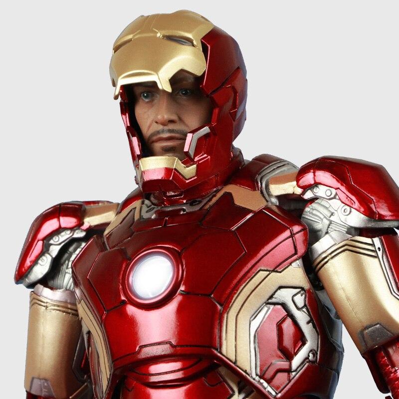 Marvel The Avengers Iron Man Mark43 42 jouet Modèle 1/6 poupée en pvc Adulte cadeau Super hero