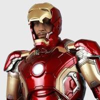 marvel The Avengers Iron Man Mark43 42 toy Model 1/6 PVC doll Adult gift Super hero