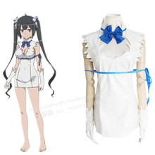 Hestia cosplay costumes sexy white dress Japanese anime Is It Wrong to Try to Pick Up Girls in a Dungeon?
