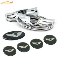 7pc 3D Emblems With Double Side Tape On The Back Emblem Badge Front And Rear Steering