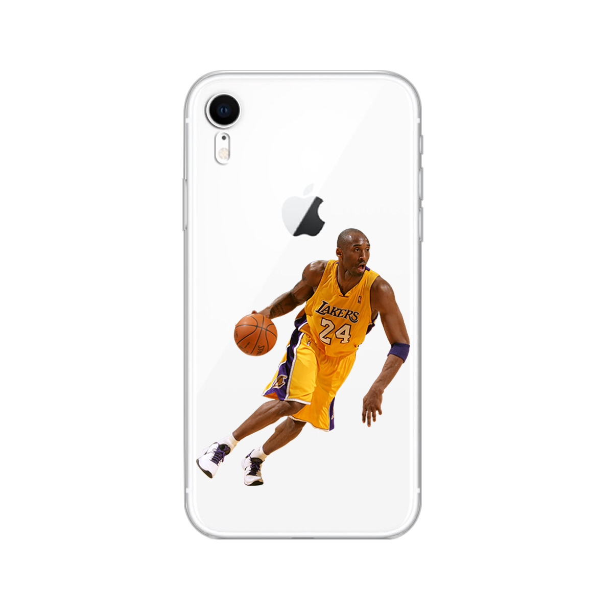 Sports Basketball Pattern Design Soft Silicone Phone Cases Cover for Iphone 8 7 6 6S Plus 5S SE X XR XS MAX Capa Kobe