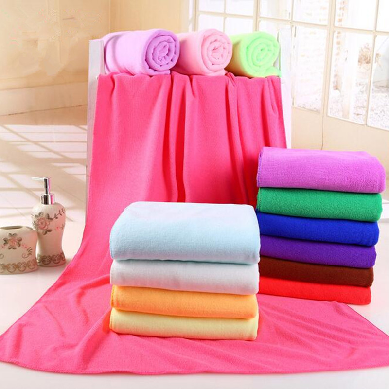 Largest Microfiber Towel: 140x70cm Supersoft Microfiber Beach Towel Microfibre Bath