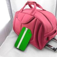 Airbus Boeing Identity C Metal Luggage Tag Aluminum Alloy Quadrate Dog Circular Air Plane Travel Tags