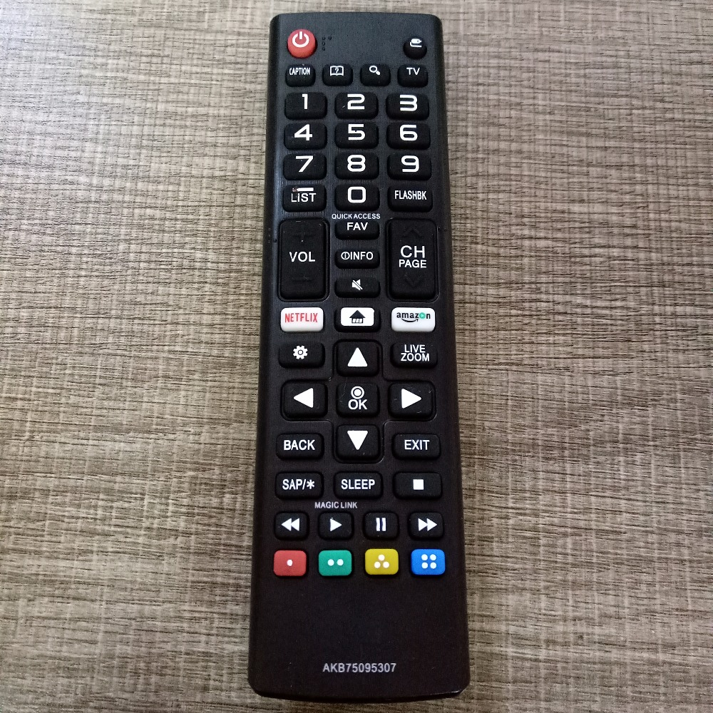 NEW Replacement for LG AKB75095307 AKB75095303 led TV Remote Control 55LJ550M 32LJ550B 32LJ550M-UB with amazon/netflix buttons for lg akb73715601 akb73975728 akb73715603 replacement new tv remote control fit led lcd tv remote