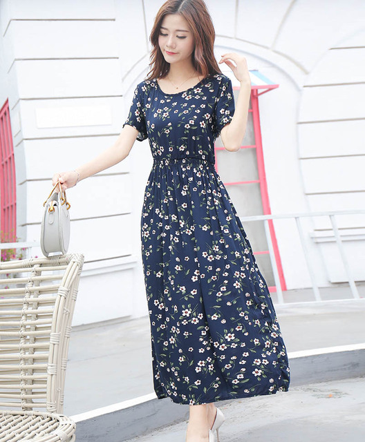 Women Dress 30 Styles Floral Print Work Business Casual Party