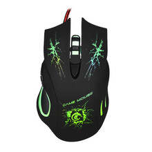 HOT Game Lovers Mouses Flexibility 5500 DPI 6D LED Optical USB Wired Game Mouse For PC Laptop Gaming May25